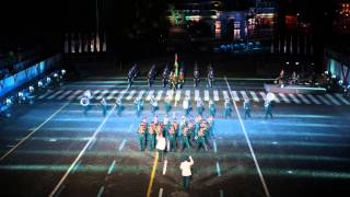 Спасская башня. Образцово-показательный оркестр Вооруженных сил Республики Беларусь