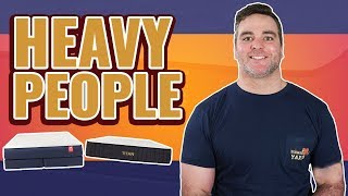 Best Mattress For Heavy & Obese People (TOP 6 BEDS)