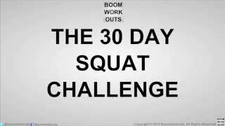 30 Day Squat Challenge - Day 1 - 50 Squats