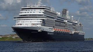Shipspotting :   De  Koningsdam 04 06 2017 Amsterdam ----IJmuiden