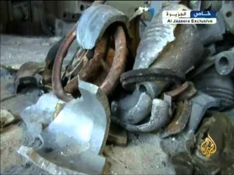 الجيش السوري الحر ينشئ ورشاً لتصنيع الذخائر