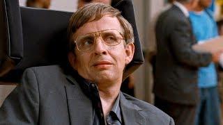 """Стивен Хокинг выступает в школе. Фильм """"Супергеройское кино"""". 2008 год"""