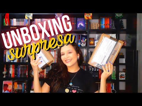 UNBOXING SURPRESA!!! - 05 LIVROS + SURTOS