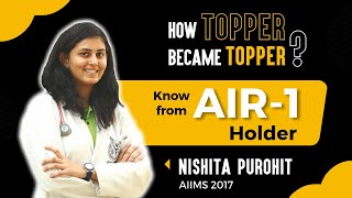 How to prepare for NEET & AIIMS   Listen from the All India Topper Nishita Purohit  AIIMS 2017