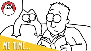 'Me Time' As A Cat Owner: Simon's Cat