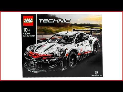 Vidéo LEGO Technic 42096 : Porsche 911 RSR