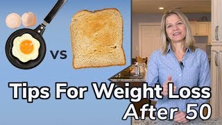 Tips for Weight Loss After 50 (Changing Habits)