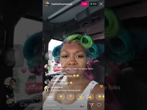 Download Amour Jayda's sister lookinameerah speaking on her Mp4 HD Video and MP3