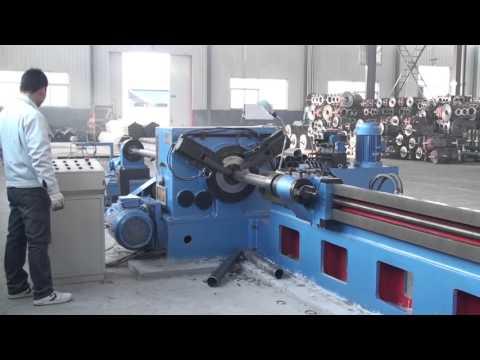 Roller Pipe Cutting Machine