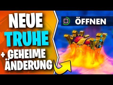 Neue LEGENDÄRE Truhe 🗺️ GEHEIME Map Änderung in Fortnite Season 8 | Deutsch