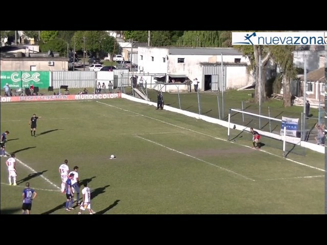 El penal  contra Pablo Rodríguez, el gol de Simon y la dedicatoria de Menchi para Laureano Ehrlich a través del alambrado