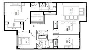 Architectural  Floor Plan Design And Drawings Your House/ Section/ Elevation/