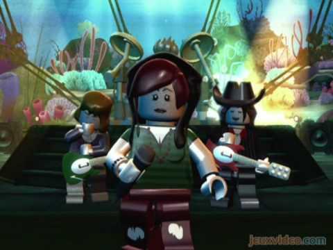 Sacre Bleu! The First LEGO Rock Band Trailer