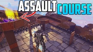 *NEW* MINI GAME! INSANE ASSAULT COURSE For LEGENDARY PRIZES! -  Fortnite Save The World