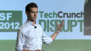Jack Dorsey, Co-Founder of Twitter and Square, Delivers His Keynote at Disrupt SF