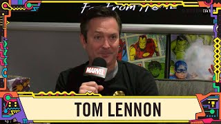 Tom Lennon hangs out on Marvel LIVE at SDCC 2019!