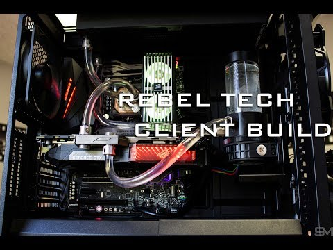 Rebel Tech Build 3 - Stage 1 Water Cooling Installation
