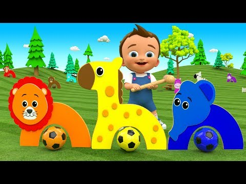 Colors For Children To Learn With Little Baby Fun Play