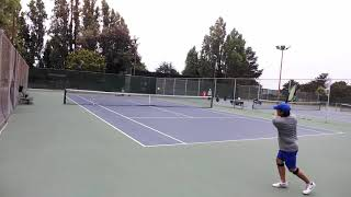 20190713 Backhand practice 7 of 8