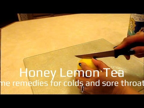 , title : 'honey lemon tea (home remedies for colds and sore throats)