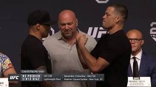 Diaz v Poirier and Woodley v Till: Full UFC 25th anniversary press conference