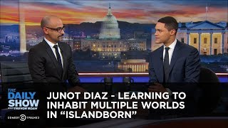"Junot Diaz - Learning to Inhabit Multiple Worlds in ""Islandborn"" 