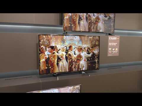 Panasonic EXW604 UHD-Fernseher für 4K-Einsteiger (2017)