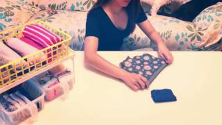 口袋式摺衣法教學影片