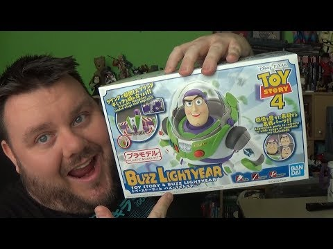 Toy Story 4 Buzz Lightyear Bandai Spirits Cinema-Rise Model Kit Action Figure Disney Pixar Review