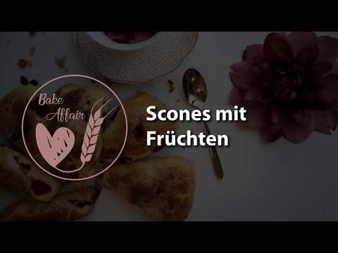 Scones with Fruit - How to Video (in German)
