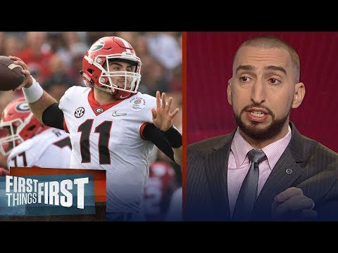 Cris and Nick on Georgia's OT Rose Bowl win and Alabama's Rout of Clemson | FIRST THINGS FIRST