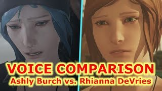 Chloe Price Voice comparison | Life is Strange Before the Storm NEW VOICE