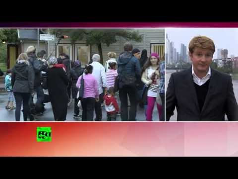 Германия начала принимать сирийских беженцев