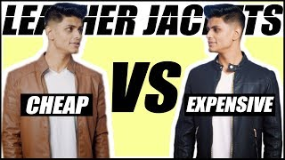 Cheap VS Expensive LEATHER JACKETS   Mans Guide To Buying The BEST Jacket   Mayank Bhattacharya