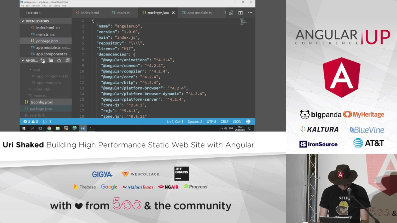 Building High Performance Static Web Site with Angular
