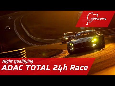ニュルブルクリンク24時間レース 2020 夜間予選の様子を配信するYouTubeライブ配信