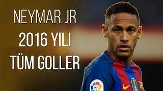 Neymar Jr -  2016 Yılı Tüm Goller | Türkçe Spiker • HD