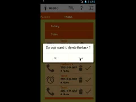 Video of Assist Task