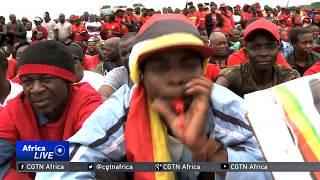 Tens of thousands bid farewell to former Zimbabwean PM Tsvangirai