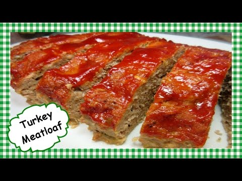 Homemade Turkey Meatloaf ~ Easy Healthy Meatloaf Recipe