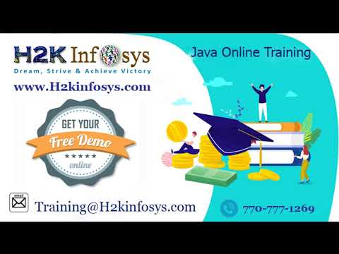 Java Online Training Free Demo Session | Java Training For ...