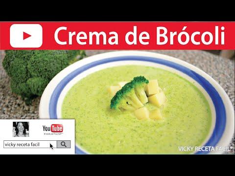 SOPA O CREMA DE BROCOLI | #VickyRecetaFacil