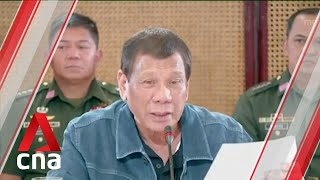 COVID-19: Philippine President Duterte warns lockdown violators could be shot if they fight back