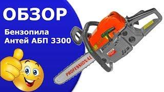 Бензопила  Антей АБП-3300 от компании дом инструмента - видео