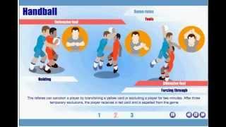 Handball. Basic terms