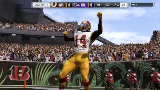 Madden 17 - Spin move TD