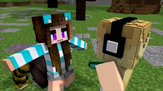 Minecraft Song ♫Die For You♫  1 HOUR  Hacker Saves Lilly Minecraft Song And Animation