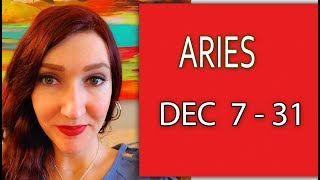 ARIES WOW!!!THE STARS ARE ALIGNED IN YOUR FAVOR!!! DEC 7 TO 31