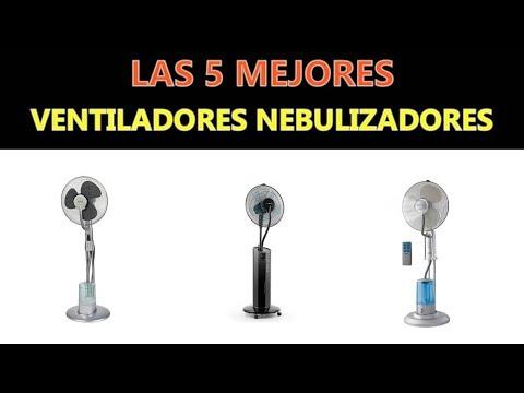 Mejores Ventiladores Nebulizadores 2020