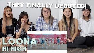 "MV REACTION | LOONA (이달의 소녀) ""Hi High"""
